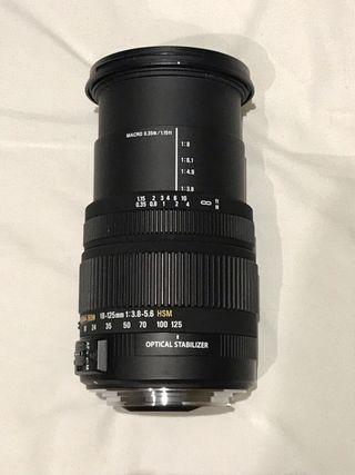 Objettivo Sigma DC 18-125mm 1:3.8-5.6 HSM