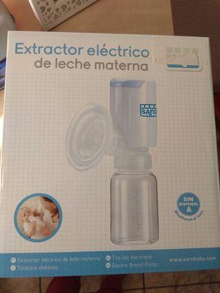 Extractor eléctrico leche materna. Sacaleches
