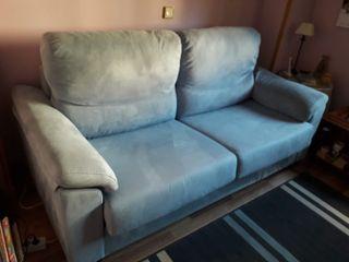 Sofá cama con colchón visco