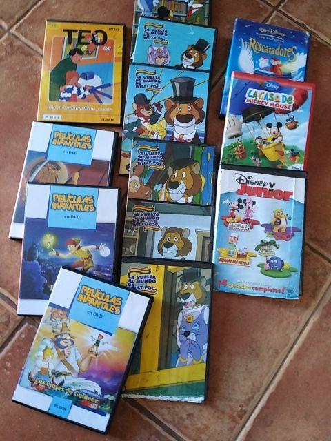 películas infantiles... Disney..willy foc..