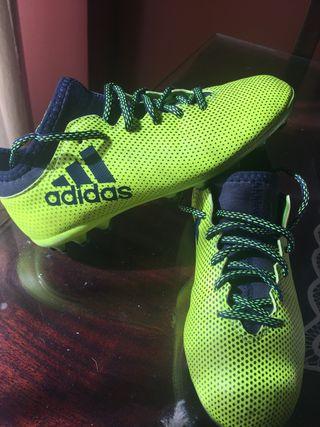 Botas fútbol niño Adidas