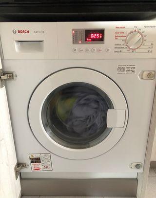 Lavadora secadora Bosch serie 4 integrable