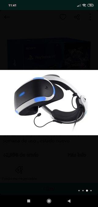 Gafas VR PlayStation y Camara