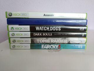 Pack de Juegos - Xbox 360