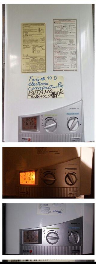 calentador butano fagor estanco electronic 14D