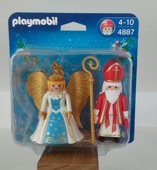 Playmobil 4887. San Nicolas y ángel.