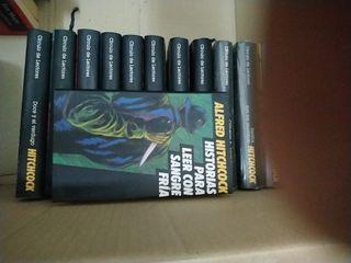 coleccion de novelas de Hitchcock