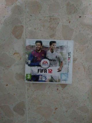 juego nintendo 3DS FIFA 12
