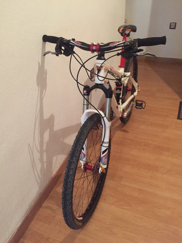 Bici doble suspension talla S