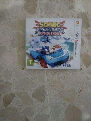 juego nintendo 3DS Sonic