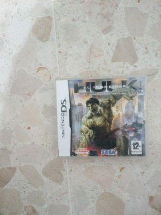 juego nintendo DS Hulk