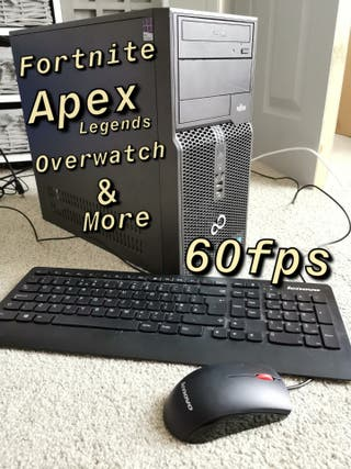 Custom Gaming PC i5 Quad Core Fortnite Apex
