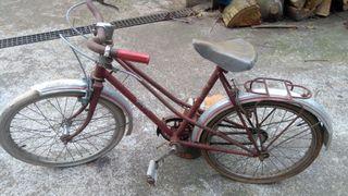 bici peugeot antigua de niña