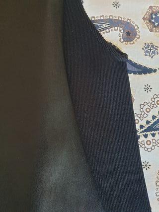 8056e9946 € Segunda 10 Negro Vestido Mano En Zara Wallapop De Por Rutis Cuero ...