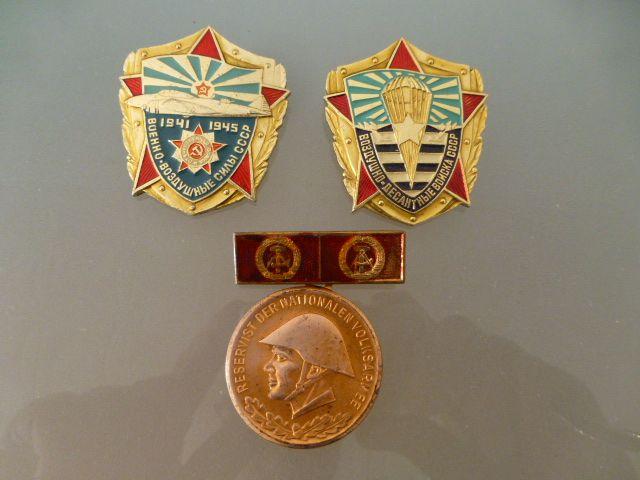 PIN militares antigua URSS