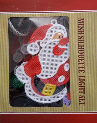 Luces de Navidad - Papá Noel