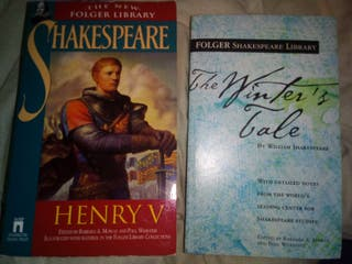 lote libros Shakespeare (inglés)