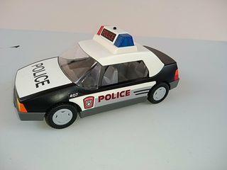 Coche patrulla de policía Playmobil.