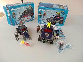 Playmobil 9058/9059. Vehículos Expedición polar