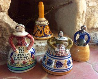 Campanas de ceramica