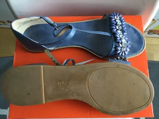 Sandalias NINE WEST t. 38 seminuevas