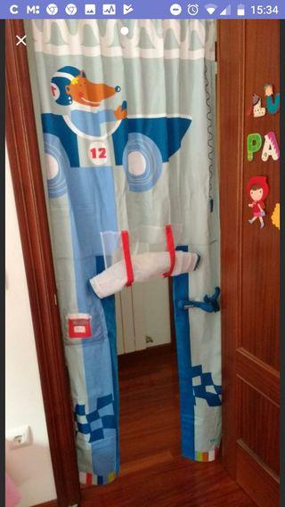 decoración infantil de puerta