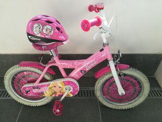 "Bicicleta de niña ""Barbie Glam"" - 16"""