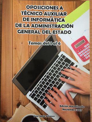 Libro oposiciones a técnico auxiliar informatica