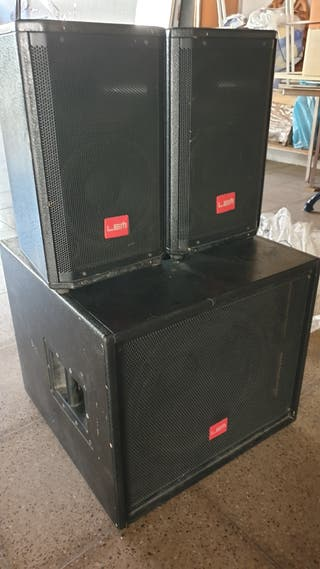 Equipo sonido Amplificador Lem