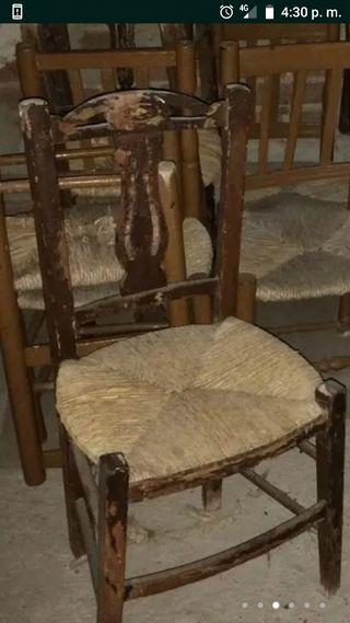 se arreglan sillas de anea