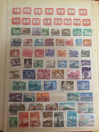 Colección sellos distintos países