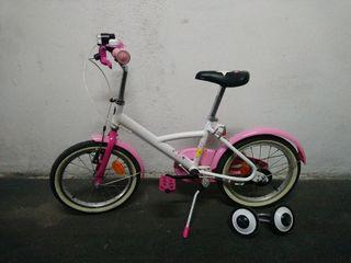 Bici infantil niña