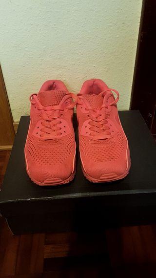 Nike airmax rosas fosforitas.Talla 40