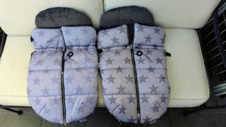 Sacos de invierno - carrito gemelar