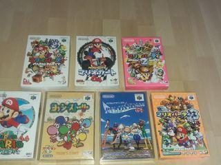 juegos Nintendo 64 lote