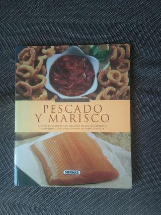 Libro de cocina Pescados y mariscos