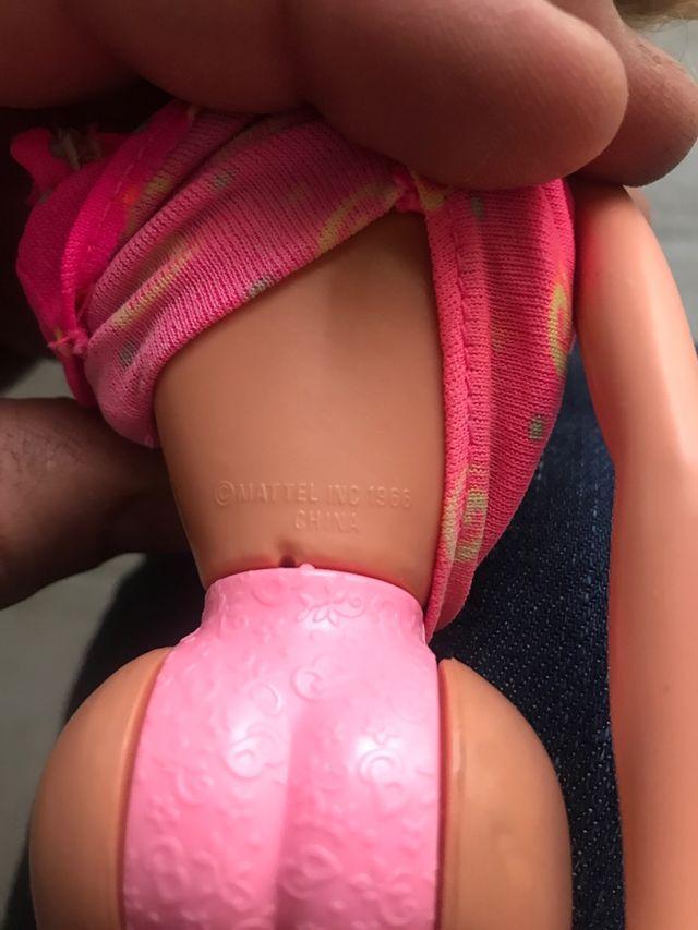 Muñeca Barbie antigua