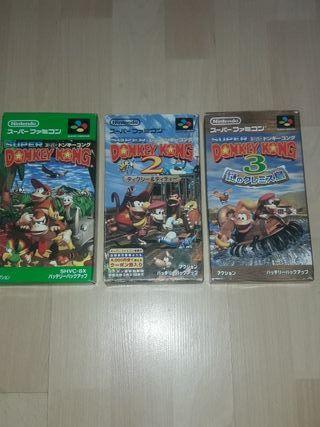 trilogía Don King Kong Super Nintendo Japón