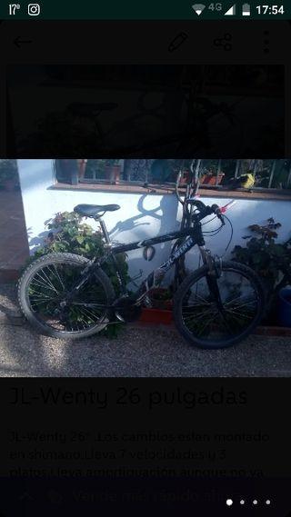 """Lote de bicicletas JL-Wenty 26"""""""