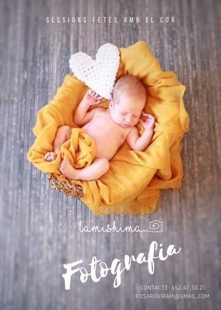Sesion de fotografia newborn