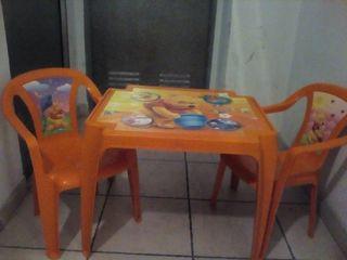mesa jardín.