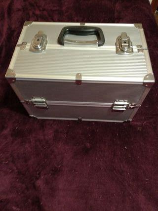 maleta maletin organizador profesional maquillaje