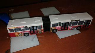 Autobús de majorette de los 90