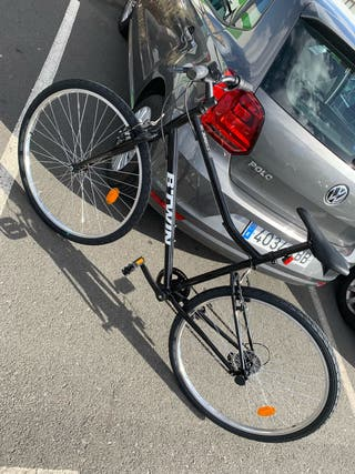 Bicicleta B'TWIN Decathlon color negro