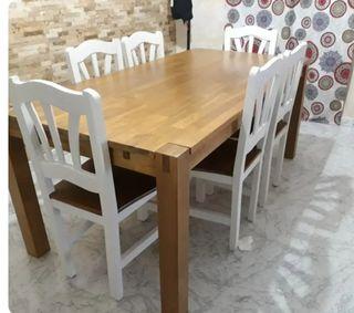 mesa maciza