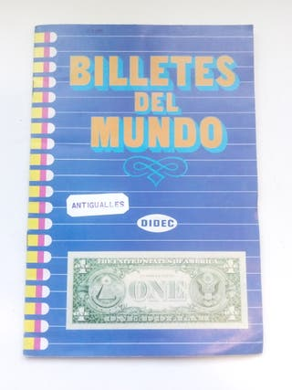 ALBUM DE CROMOS COMPLETO BILLETES DEL MUNDO DIDEC