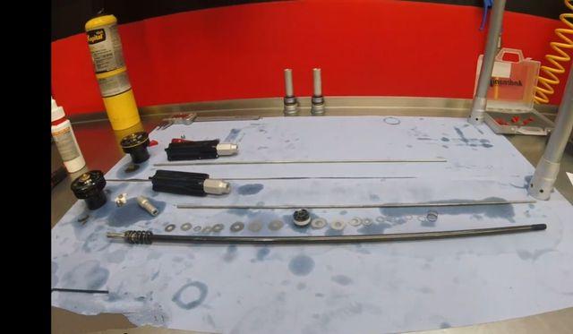 horquilla WP 4cs preparada para enduro