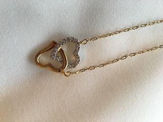 Collar de oro Swarovski
