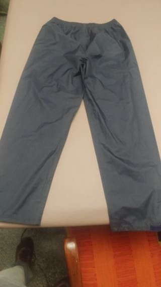 pantalon impermeable XL para lluvia o nieve