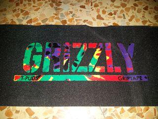 Lija Grizzly Diamond skate + pastilla limpieza